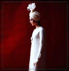 vestido de novia de Yves Saint Laurent, 1962