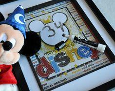 Disney Countdown Wipe Off Frame by Pixelista @Kari Jones Jones alissa Peas in a Bucket