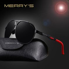 Tendance : Tendance lunettes : MERRY'S 2017 Top Quality Brand Designer Cool Polarized Mens Sunglasses Prote