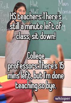 Lol my teacher