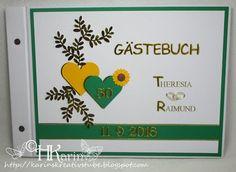"Karins Kreativstube: Gästebuch Goldene Hochzeit ""Theresia & Raimund"" So..."