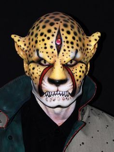 Individuals - Nick Wolfe on Pinterest   Face Paintings, Body ...
