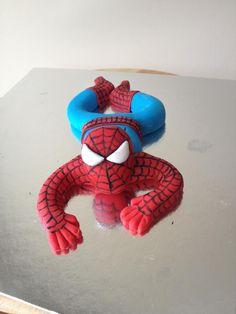 Fondant Spiderman