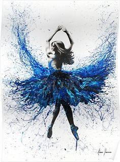 York Crystal Dance by Ashvin Harrison is printed with premium inks for brilliant color and then hand-stretched over museum quality stretcher bars. Money Back Guarantee AND Free Return Shipping. Ballet Painting, Dance Paintings, Painting & Drawing, Acrylic Paintings, Ballerina Art, Ballet Art, Dancing Drawings, Art Drawings, Ballet Drawings