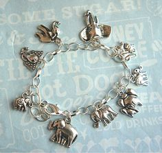 elephants charm bracelet I need these for my project