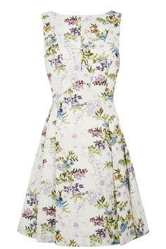 POSEY PRINT JACQUARD DRESS | Multi | Oasis Stores
