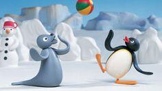 In de serie ook voor ouders kijkbare kindertelevisie: Pingu, een opgefokte pinguin met humor