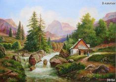 горные пейзажи картины - Поиск в Google