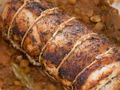 FRENCH-STYLE POT-ROASTED PORK LOIN (slight modifications necessary for Paleo)