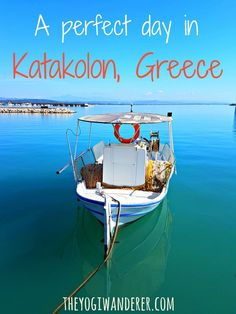 Wondering how to spend your cruise port day in Katakolon, Greece? Check out the best things to do in Katakolon for a perfect independent day of exploring. Katakolon Greece, Greece Cruise, Greece Vacation, Greece Travel, Greece Trip, Visit Greece, Italy Travel, European Vacation, European Travel