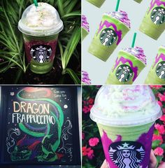 Starbucks Dragon Frappuccino - The Magic Continues!