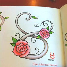 Lovely traditional roses and taurus sign Great Tattoos, Beautiful Tattoos, Body Art Tattoos, New Tattoos, Tatoos, Awesome Tattoos, Temporary Tattoos, Taurus Tattoos, Zodiac Tattoos