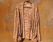 1970's vintage cardigan sweater with bell sleeves