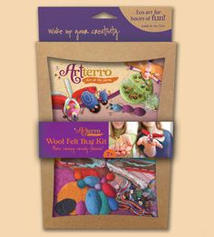 We used Artterro's Wool Felt Bugs Craft Kit for our Kids Night Out activities!  See more Artterro craft kits here: http://harmonymoongifts.com/shopharmonymoon.html#!/~/category/id=1355799&offset=0&sort=normal
