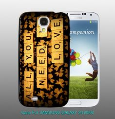 The Beatles - All You Need Is Love  , For Samsung S4 i9500 Black Case