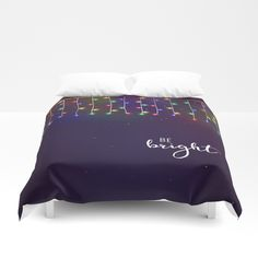 Be bright Duvet Cover by julianarw