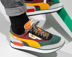 Sneakers Fashion, Fashion Shoes, Puma Sneakers, Teal Green, Men's Shoes, Nike Air, Sporty, Future, My Style