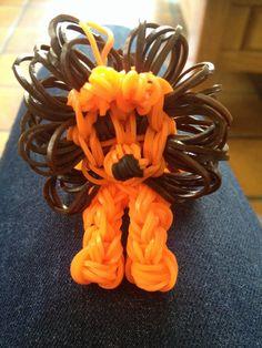 Loom bands: wk leeuwtje