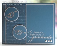 Graduation card in Midnight Muse by amyk3868 - Cards and Paper Crafts at Splitcoaststampers