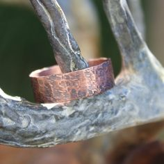 Simply Copper 2 - A simple handmade copper ring. by artiumdesigns on Etsy