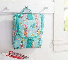 Aqua Mermaid Toiletry Bag