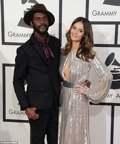 New parents: Nicole and her partner Gary Clark Jr. announced the news of her pregnancy and...