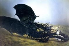 eowyn and nazgul (by john howe)