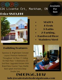 45 best homes for sale in markham images in 2019 greater toronto rh pinterest com