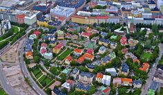 You can almost see my home in this picture - Eira (in Helsinki, Finland) by zzleepingpike, via Beautiful Buildings, Small Buildings, Visit Helsinki, Moving Overseas, Interesting History, Capital City, Norway, City Photo, Viking River
