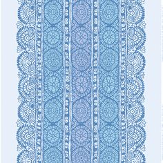 Marimekko Dombra Blue / Purple Fabric - Discontinued Items