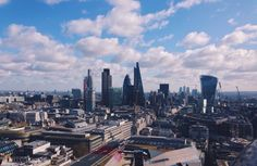 #NYU #London | A view of London from the top of St. Paul's Cathedral
