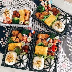 Bento And Co, Bento Box Lunch, Bento Recipes, Cafe Food, Indonesian Food, Asian Cooking, Food Design, I Love Food, Food And Drink