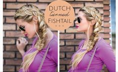 Awesome #FishtailBraid tutorial. Can you recreate this look? #hairtutorial #hairstyles