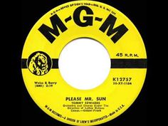 1959 HITS ARCHIVE: Please Mr. Sun - Tommy Edwards - YouTube