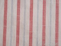 Streifen Stoff@Baumwolle@gestreift@rot hellblau Ebay, Striped Fabrics, Light Blue, Stripes, Red, Cotton