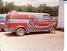 custom vans | Centerfold Custom Dodge Van