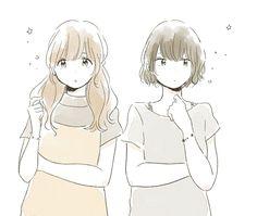 Kawaii Art, Kawaii Anime Girl, Anime Art Girl, Cartoon Girl Drawing, Girl Cartoon, Kawaii Drawings, Cute Drawings, Pretty Art, Cute Art
