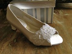 Custom Beaded Lace Flower Girl First Communion by LaBoutiqueBride, $84.00