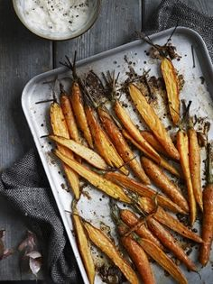 Carrots with Garlic Yohurt | Vegetable Recipes | Jamie Oliver