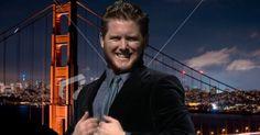 ACTOR/SINGER/DANCER LUKE CHAPMAN  IN A PHOTO SHOOT BY THE SAN FRANCISCO BRIDGE!