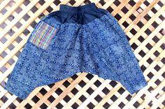 Kids Harem Pants Bohemian Trousers Hmong by Siamese Dream Design,  #Bohemian #Kids #Harem #indigo