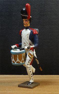 soldats de plomb et figurines de collection - boutique au plat d'étain à Paris - grenadier garde impériale - collection empire