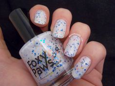 Swatch - Foxy Paws: I live for the Applause #nailart #ladygaga