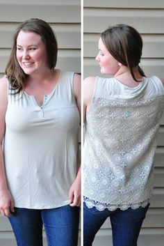 Saw this Stitch Fix top on someone's blog... I love it!