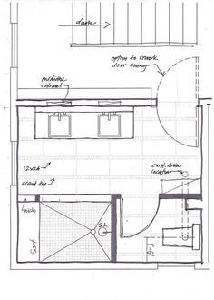 Bathroom layout on pinterest floor plans master for Master bath designs without tub