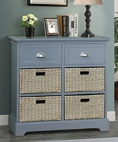 Loving this Gray Six-Drawer Newport Chest on #zulily! #zulilyfinds