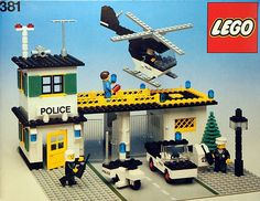 381-2: Police Headquarters | Brickset: LEGO set guide and database