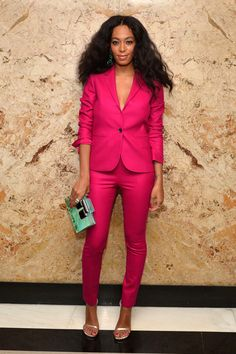 Solange Knowles is the definition of monochrome goals