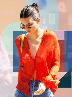 10 Sheer Tops That Carry On Kendall Jenner's Free The Nipple Crusade Kendall Jenner Style, Sheer Shirt, Shopping Hacks, Street Style, Dress Me Up, Summer Looks, Latest Fashion Trends, Fashion Online, What To Wear