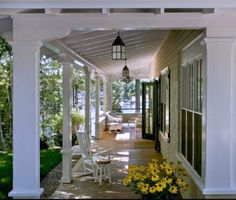 Covered Porch Paradise, Adore Your Place - Interior Design Blog Inviting for a summer nap